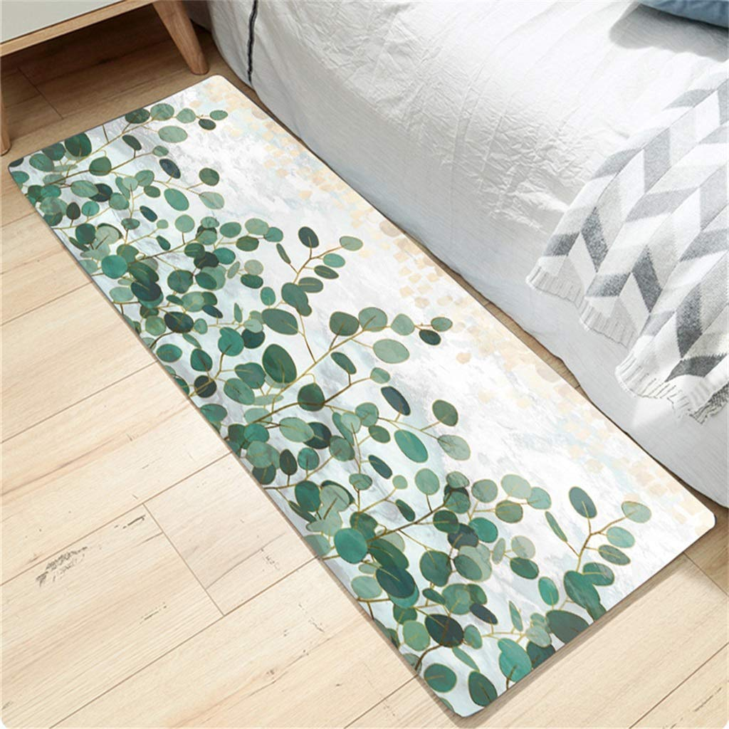 Non-Slip Kitchen Floor Machine Washable Rubber Back Rug Hallway Mats Entrance Carpet Mat