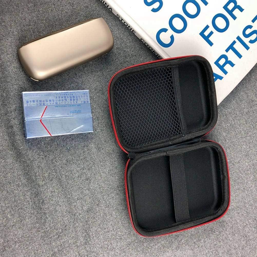 Schutzh/ülle aus Hochwertiger Oxford-Stoff mit Rei/ßverschluss DrafTor E Zigarette Tasche f/ür IQOS3.0 nur Tasche IQOS 2.4Plus
