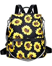 Casual Backpack Purse Women Girl Canvas School Rucksack Bookbag Daypack Travel Bag