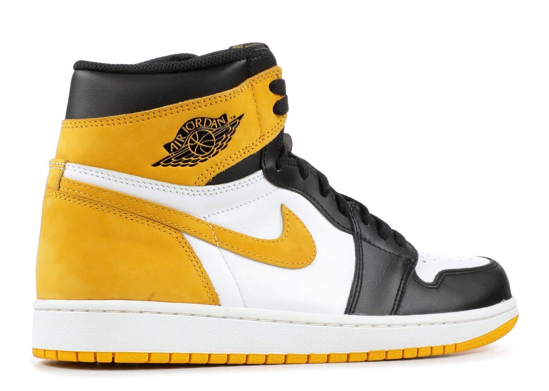 1af54050e55e AIR Jordan 1 Retro HIGH OG  Yellow Ochre  - 555088-109  Amazon.co.uk  Shoes    Bags
