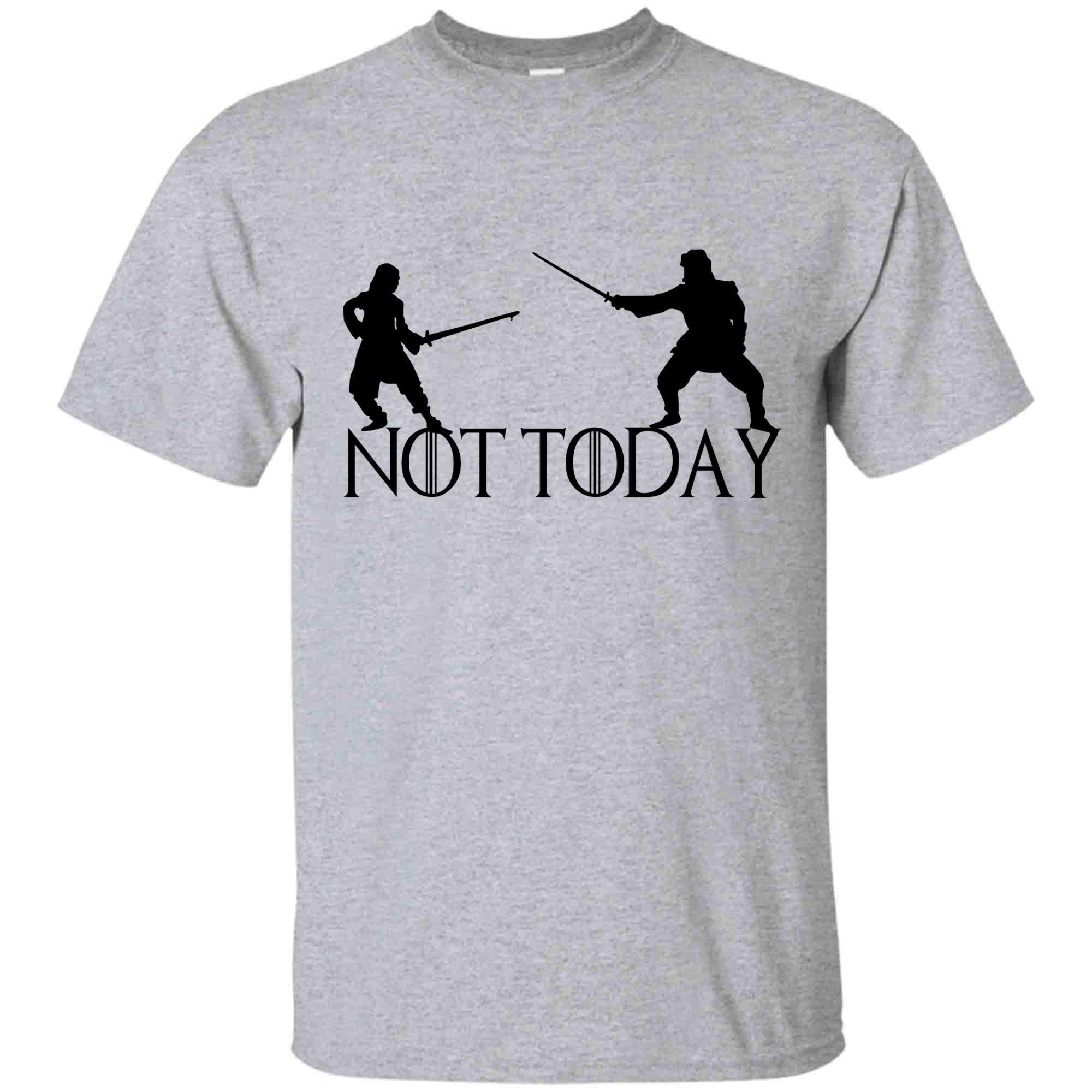 Game Of Thrones Shirt Not Today Shirt Arya Stark And Her Tea T Shirt For And
