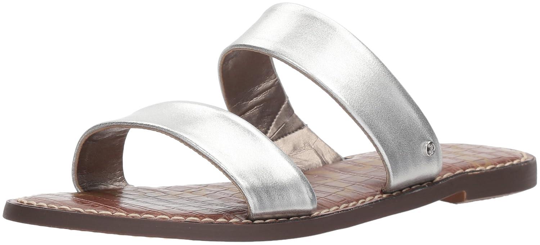Sam Edelman Women's Gala Slide Sandal B076MD27RR 5 B(M) US Silver