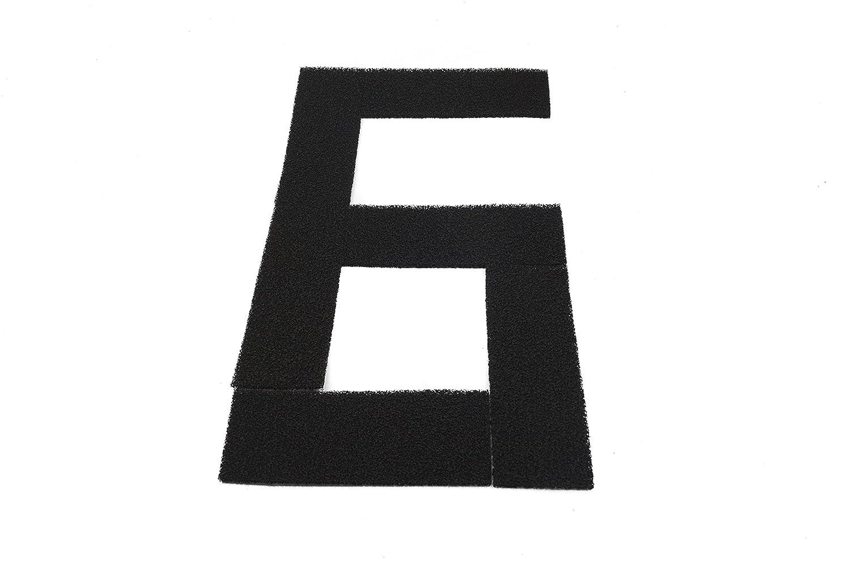 Genérico - Filtros de carbón activado, Esponja de filtrado, estera de filtrado - 4 PLUS 4+ (6 unidades): Amazon.es: Hogar