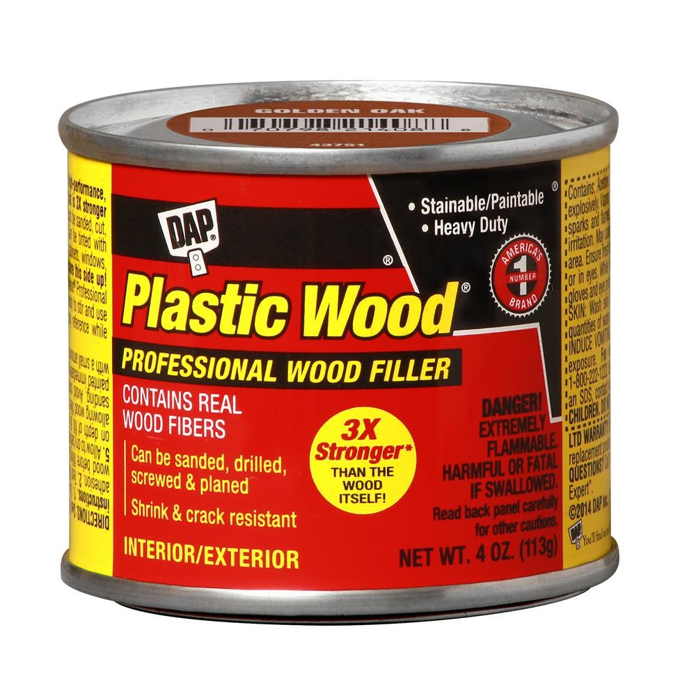 Plastic Wood 4 oz. Golden Oak Solvent Wood Filler (12-Pack)