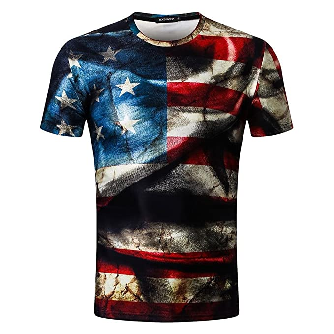 Naturazy-Camiseta Moda Ropa para Hombre Casual Impresión 3D La Vieja Gloria Camiseta Camiseta Manga Corta Verano Hombres Más Tamaño Impresas Tops Blusa ...