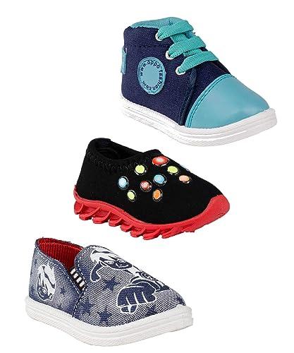 Hot-X Baby Boys Multicolour Shoes Combo