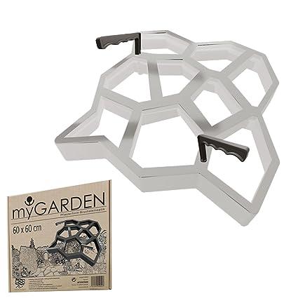 Plantilla de moldes para hormigón @tec de plástico, para imitar piedra natural, adoquines