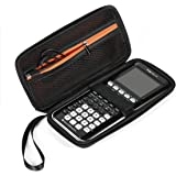 BOVKE Graphing Calculator Carrying Case for Texas Instruments TI-84 Plus CE Hard EVA Shockproof Storage Travel Case Bag Protective Pouch Box