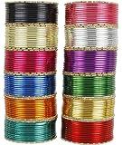 MUCH MORE 12 Multi Color Bangle Box Women