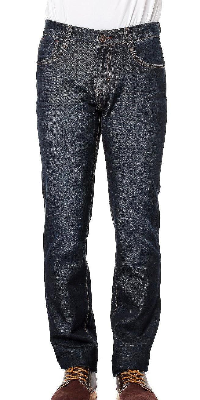 FOURTYFOUR Mens Skinny Slim Jeans