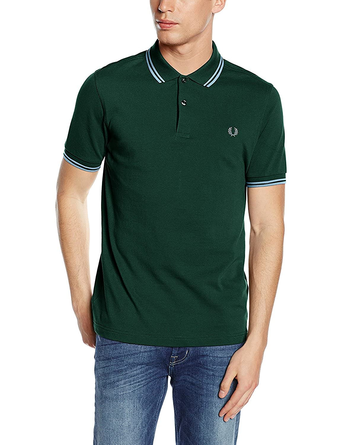 Fred Perry - Polo para Hombre Verde (Ivy Green) XXX-Large: Amazon ...