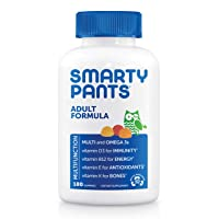 Daily Gummy Multivitamin Adult: Vitamin C, D3, & Zinc for Immunity, Omega 3 Fish...