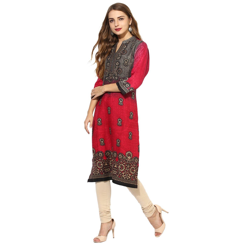Lagi Kurtis Ethnic Women Kurta Kurti Tunic Digital Print Top Dress Casual Wear New Launch by Lagi (Image #5)