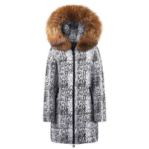 DICPOLIA Coat for Women Abrigo Largo con Capucha para Mujer ...