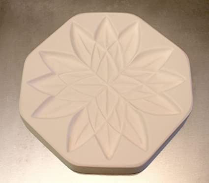 Peony Texture for Tile Mold for Glass Slumping 11 Inch Diameter $35 Retail