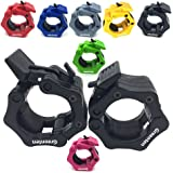 """Greententljs 2 Inch Barbell Clamps Quick Release Pair of Locking 2"""" Inch Pro ABS Locking Olympic Size Workout Professional Barbell Secure Snap Latch for Squat Weightlifting/Powerlifting"""