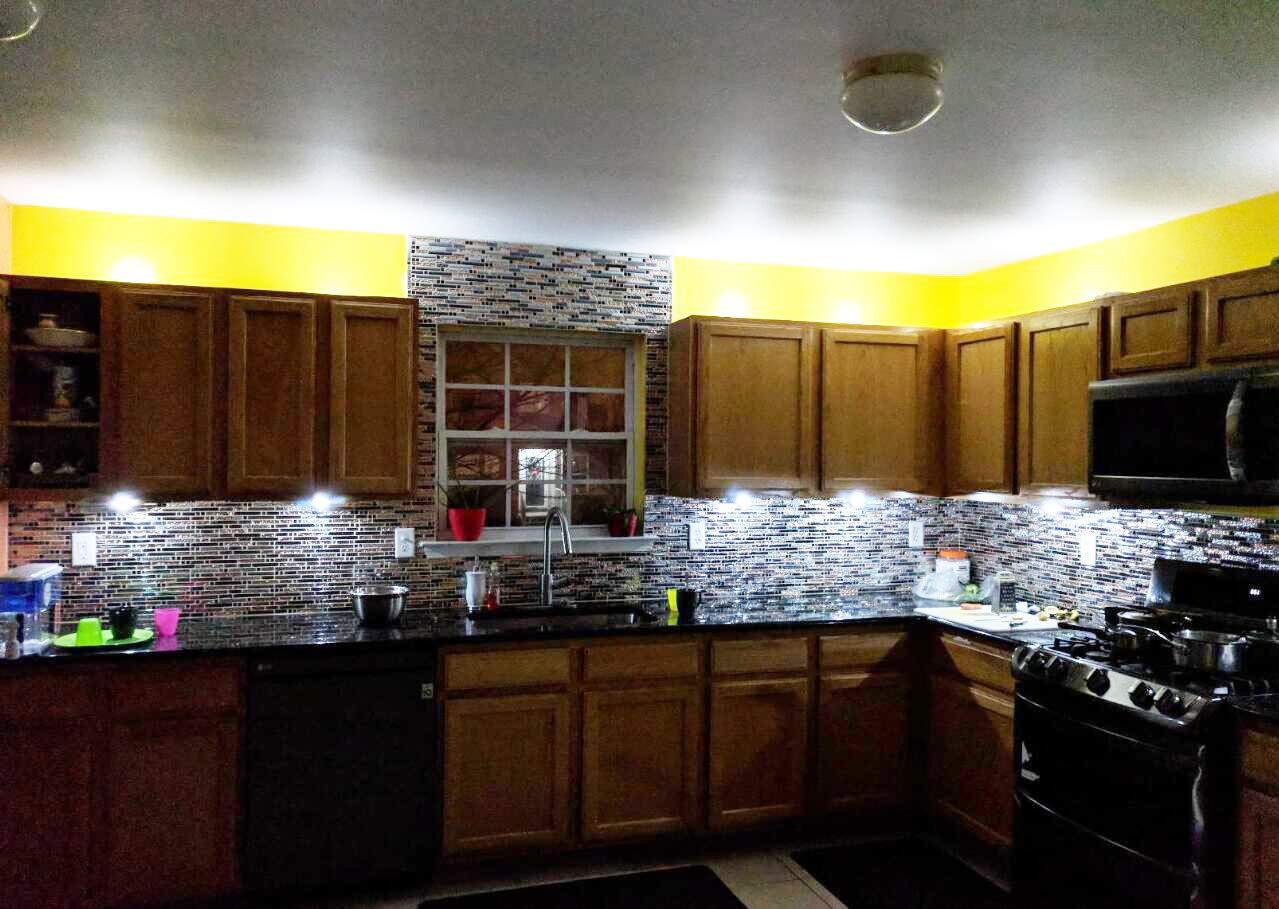 TST Mosaic Tiles Crystal Glass Tile Interlocking Black Brown Mosaic Bath Kitchen Fireplace Decor TSTGT107 (5 PCS [12'' X 12''/Each]) by TST MOSAIC TILES (Image #8)