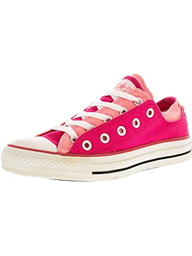 ef12f02651fe84 Converse Unisex All Star Chuck Taylor Double Upper Pink Berry Ox Shoes US  5  Buy Online at Low Prices in India - Amazon.in