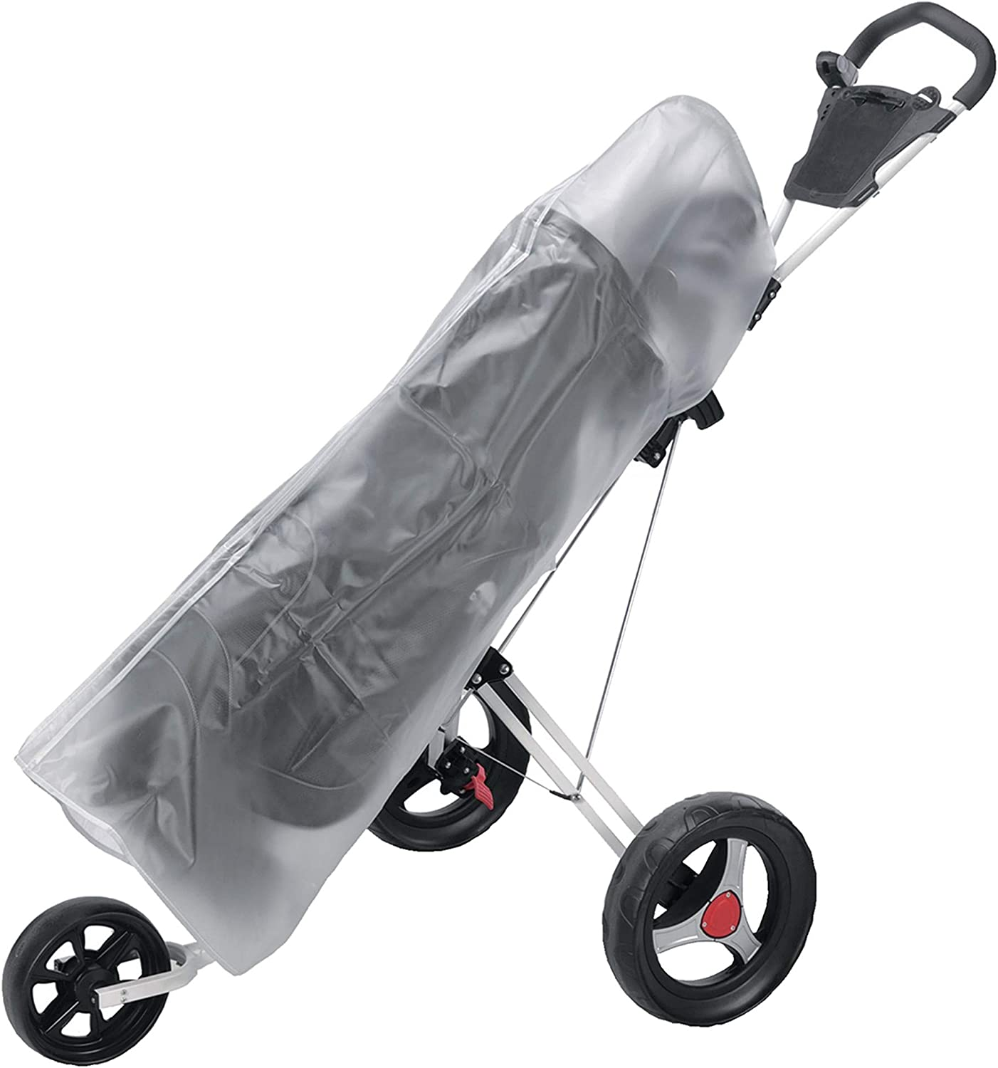 Adidat Waterproof PVC Rain Cover for Golf Bag & Cart