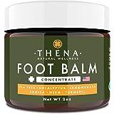 Tea Tree Oil Antifungal Cream Extra Strength, Athletes Foot Balm Dry Skin Cracked Feet & Heel Jock Itch Relief Toenail…