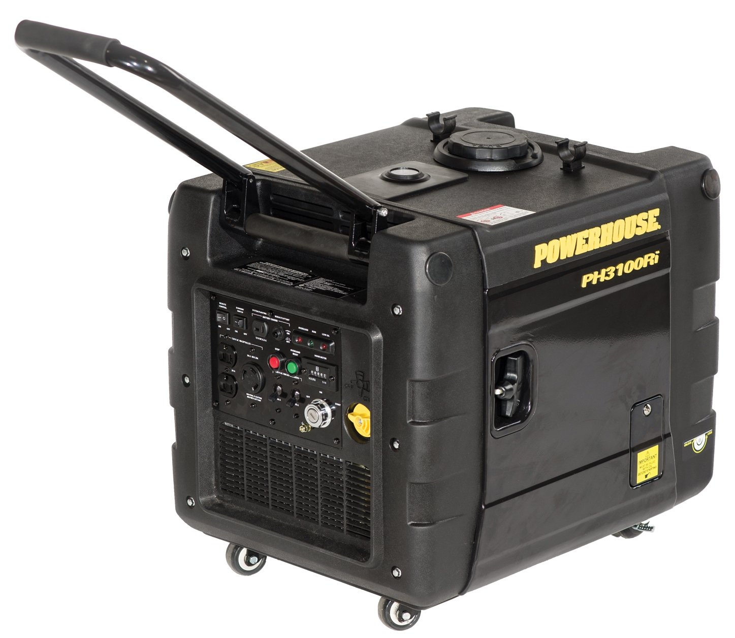 Champion 3100 watt inverter generator review is it a good for Inverter to run 1 hp motor