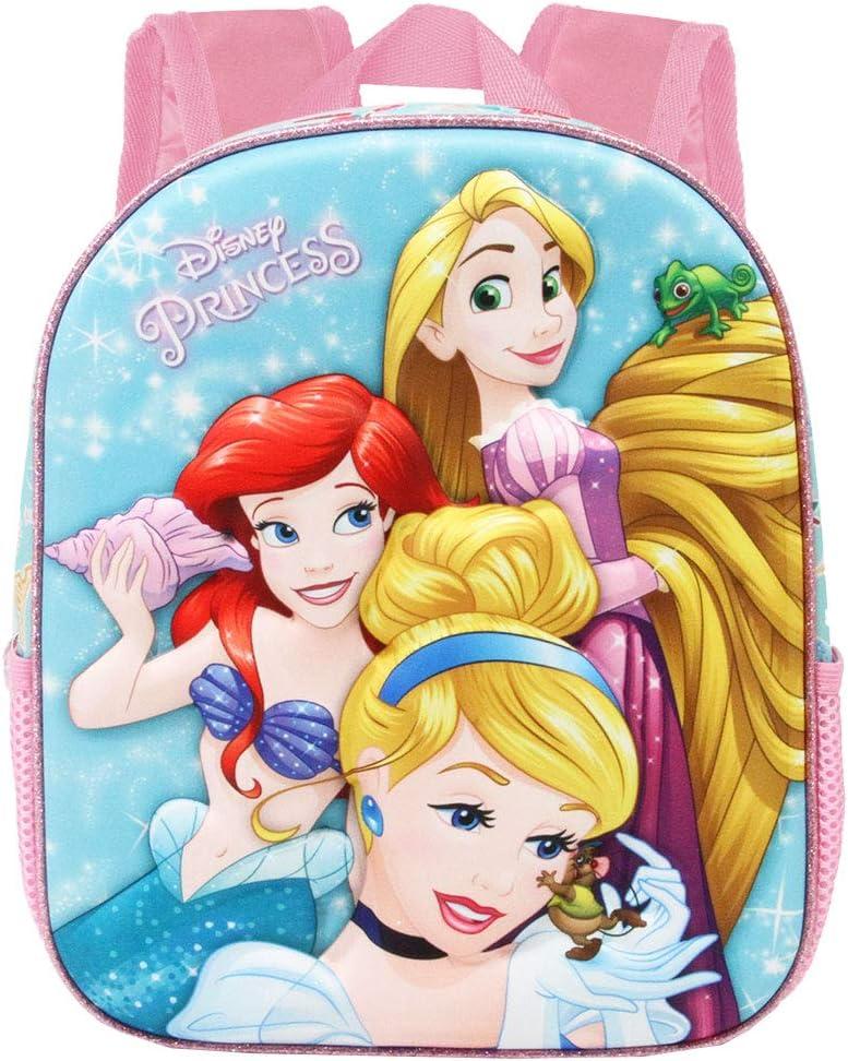 Princesas Disney Beautiful-Mochila 3D Peque/ña