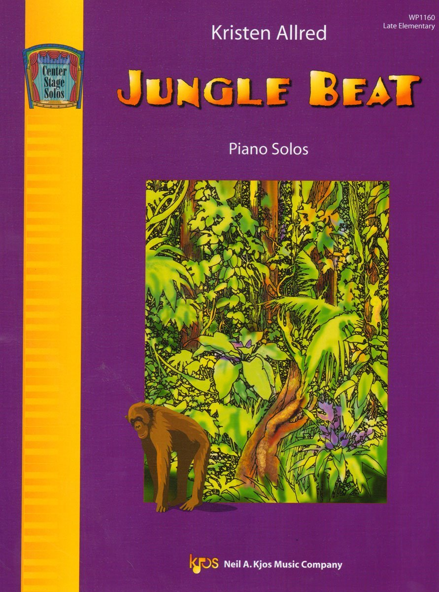 Download WP1160 - Jungle Beat - Piano Solos - Late Elementary pdf