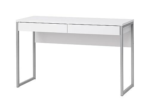 Schreibtisch weiß mit schubladen ikea  Schreibtisch Computer PC Tisch Arbeitstisch