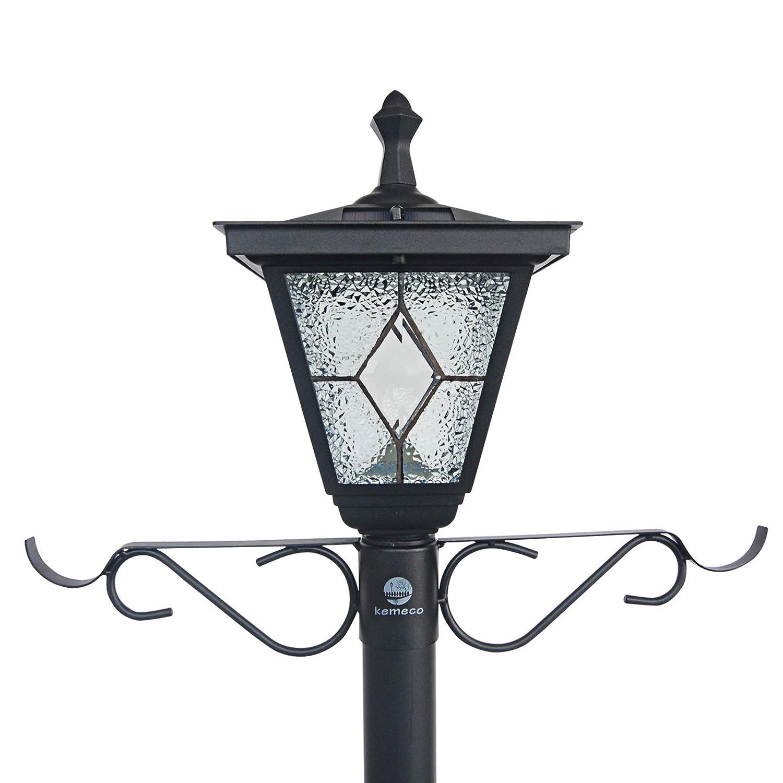 Kemeco St4221ssp4 Led Cast Aluminum Solar Lamp Post Light With