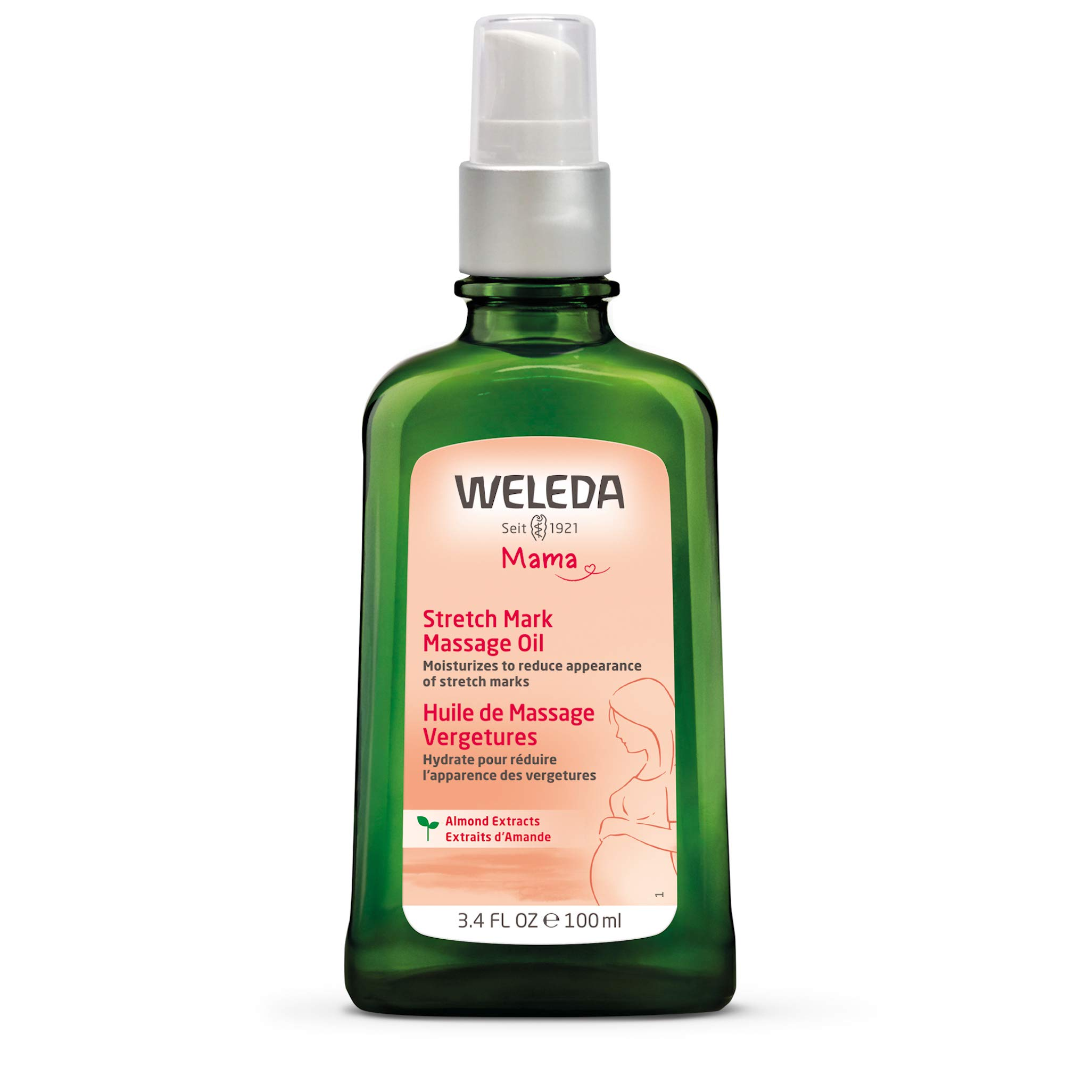 Weleda: Pregnancy Body Oil for Stretch Marks, 3.4 Fl Oz (Pack of 1) by Weleda
