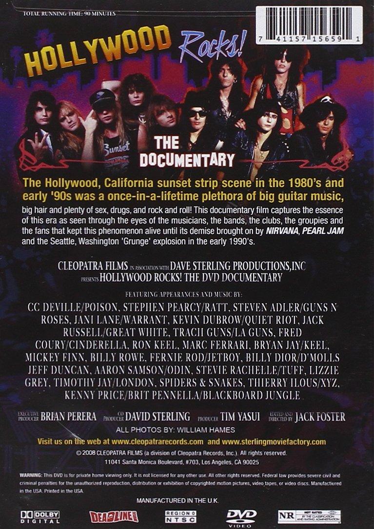 Hollywood Rocks [Alemania] [DVD]: Amazon.es: Various Artists ...