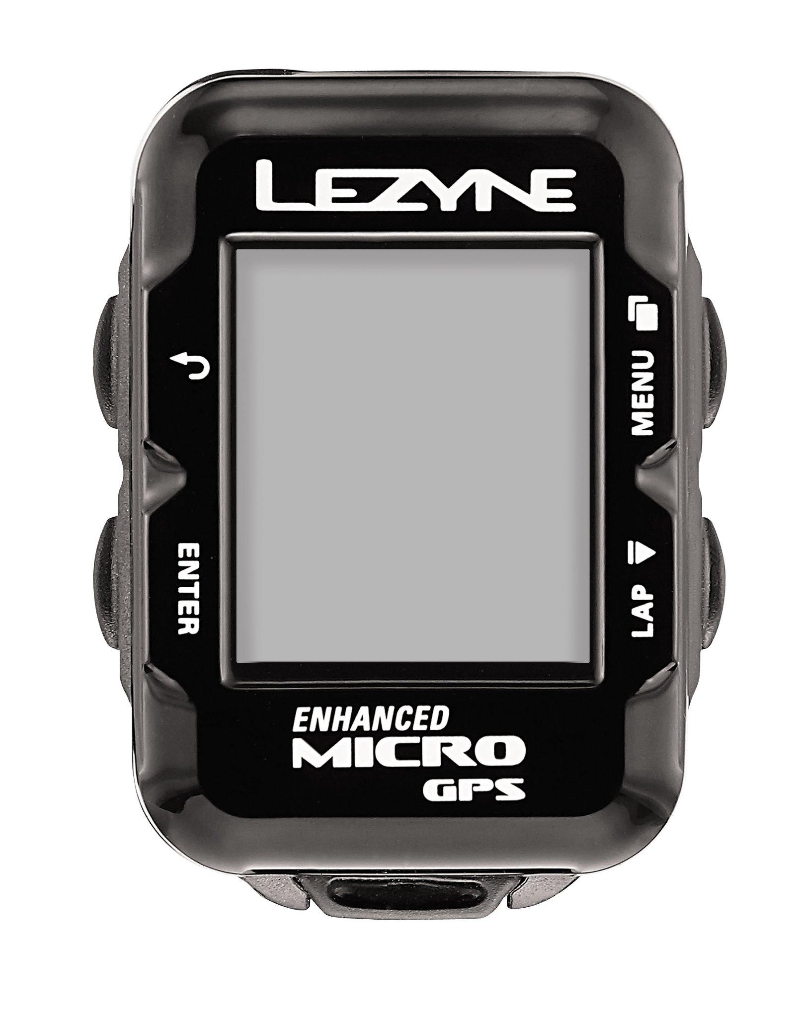 Lezyne Micro GPS, Black, One Size