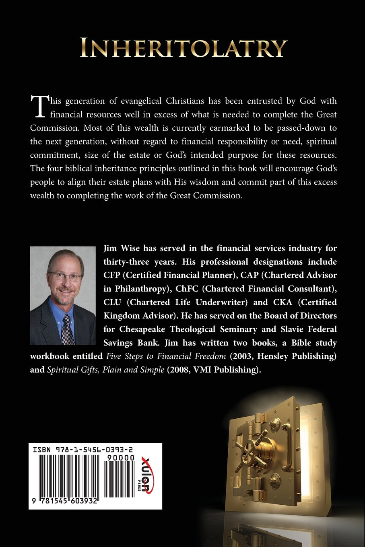 Workbooks spiritual gifts workbook : Inheritolatry: James D Wise: 9781545603932: Amazon.com: Books