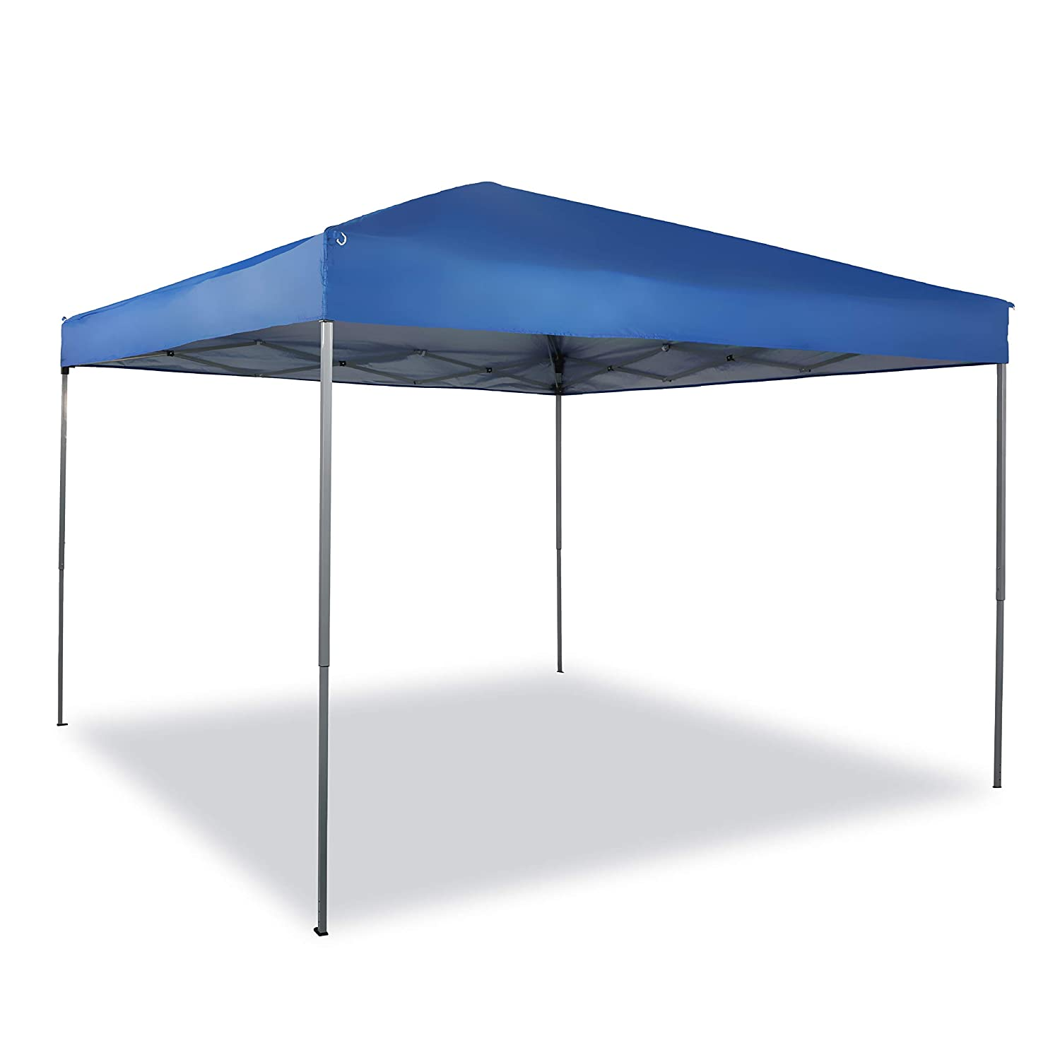 PHI VILLA 10 x 10ft Pop Up Canopy Event Tent Party Tent, 100 Sq. Ft of Shade, Blue