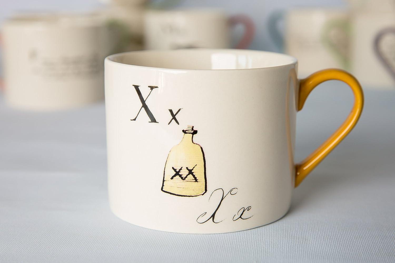 V/&a Edward Lear Nonsense ALPHABET LETTRE O poème de collection vintage Mug Céramique