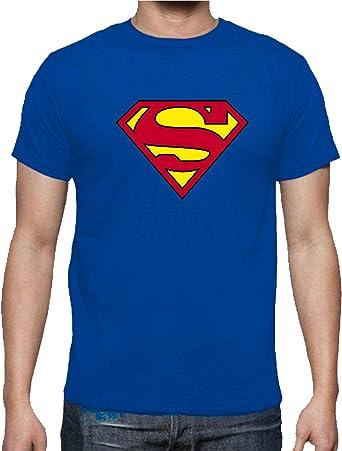 Camiseta de NIÑOS Superman Superheroe Comic: Amazon.es: Ropa y accesorios