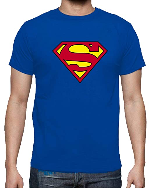 The Fan Tee Camiseta de Mujer Superman Superheroe Comic  Amazon.es  Ropa y  accesorios 37e50e37ad410