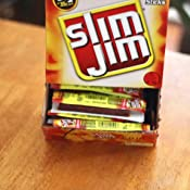 Amazon.com: Slim Jim Smoked Snack Sticks, Original, 28-Oz ...