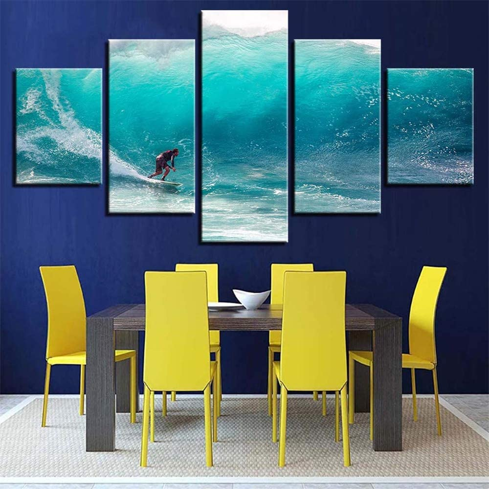 Pintura decorativa, HD inkjet hogar cocina paisaje pintura de ...