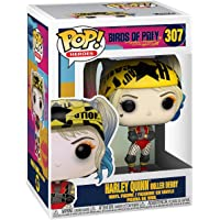 Birds of Prey Harley Quinn Roller Derby Pop! Vinyl Figure with Collectible Card - Entertainment Earth Exclusive - and with 1 Compatible PET Graphic Protector Box