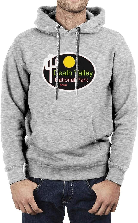 Mans Must Long Sleeve Hoodies Death Valley National Park Hoodies Sweatshirt