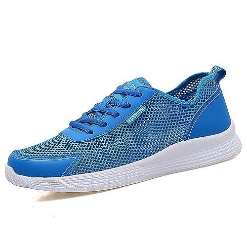 Zapatillas de Running para Hombre Vamp de Malla Transpirable 39-48: Amazon.es: Zapatos y complementos