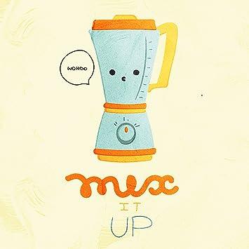Mix It Up Wohoo mezclador de cocina juego de palabras Fine Art ...