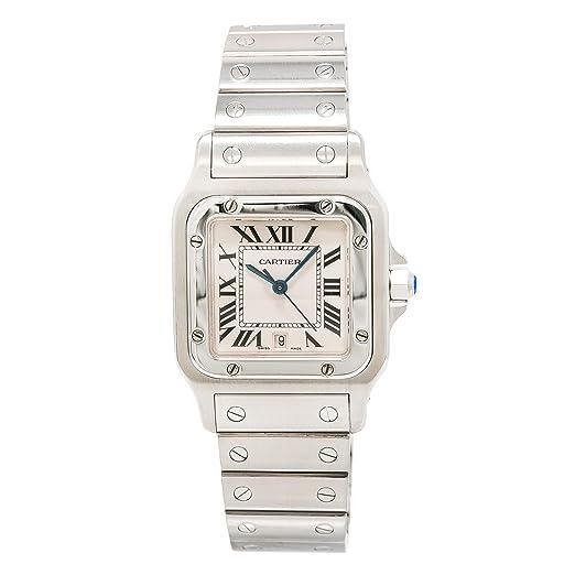 Cartier Santos Galbee 1564 - Reloj de cuarzo con certificado de autenticidad: Cartier: Amazon.es: Relojes