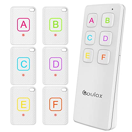 Amazon.com: Key Finder, COULAX Wireless Key Tracker Anti ...