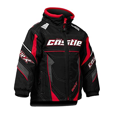 Castle X Bolt G4 Toddler Snowmobile Jacket Red 5T