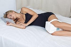 Everlasting Comfort 100% Pure Memory Foam Knee Pillow