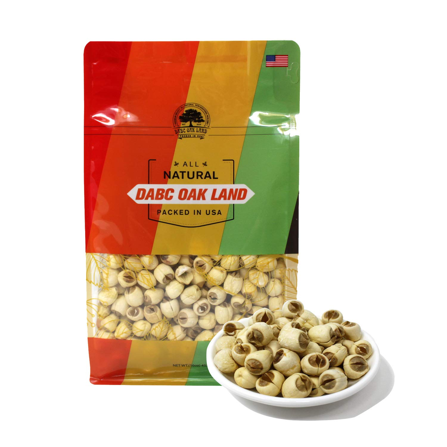 DOL Natural Dried Lotus Seeds ??? 16 Ounce