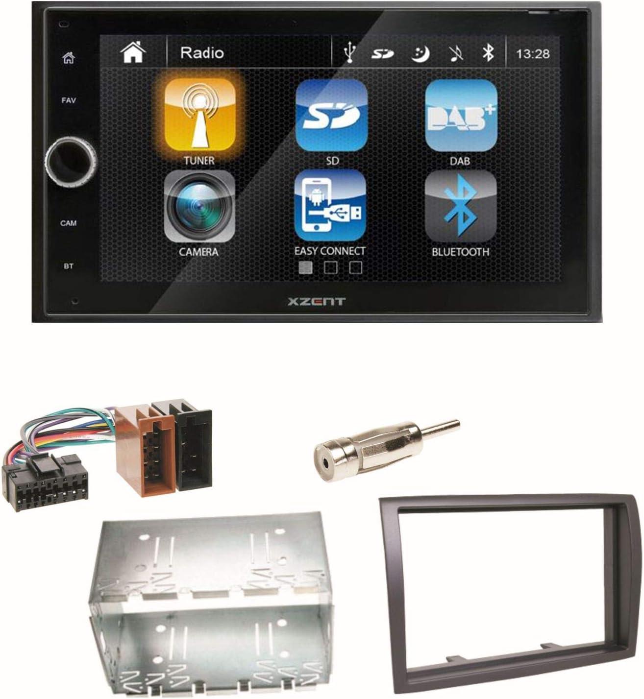 Xzent X 222 Moniceiver Bluetooth 2 Din Usb Dab Elektronik