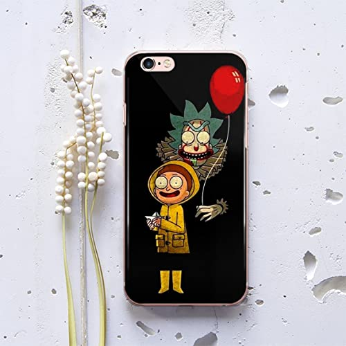 coque iphone x rick et morty